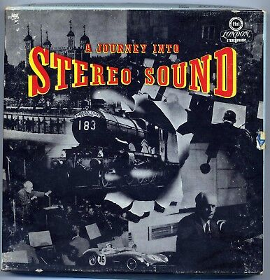 A Journey Into Stereo Sound reel to reel 7 1/2 ips Argenta, Ansermet, Ros