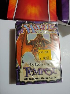 Magic The Gathering Tempest Factory Sealed Tournament Starter Deck