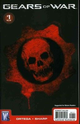 Gears Of War Comic #1 Sealed and carded