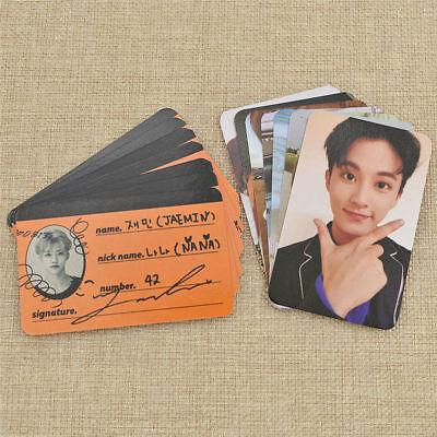 7Pcs/set Kpop NCT Photo Card Photocard Poster Album Lomo Cards Fans Support Gift