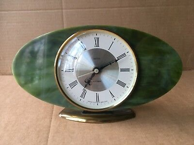 Smiths Art Deco Style Mantle Clock - vintage, retro