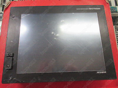 1pc  used  Mitsubishi touch screen GT1585-STBA   #t8