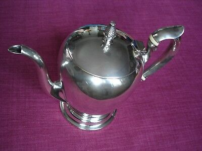 Antique 3 Pint Solid .925 Sterling Silver Kettle  22.2oz or 630g.