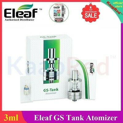 100% Original EL€AF GS-Tank TC 3ml With GS Air 0.15ohm Coiil for iStick 40W Box¹