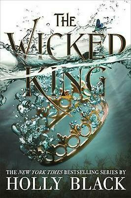 The Wicked King (The Folk of the Air #2) by Holly Black Paperback Book Free Ship
