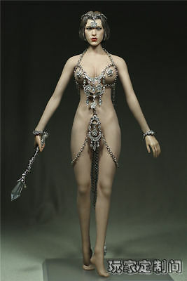 """1/6th Customized God Of Love Clothes Suits Set For 12"""" Phicen Female Figure Body"""