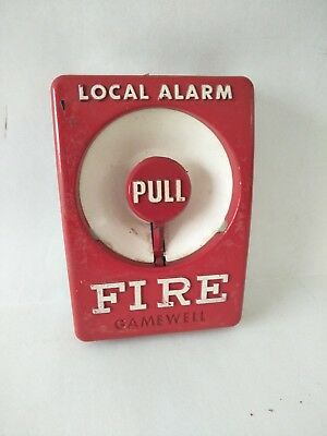 Fire Alarm Gamewell  Break Glass  Station. Vintage , Retro. Imported From Usa