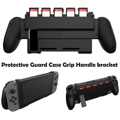 Handle Protective Guard Case Shell bracket Grip W/Game Slot for Nintendo Switch