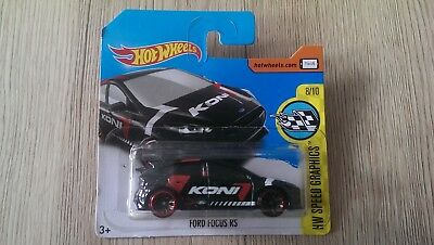 OVP Hot Wheels 2017 Ford Focus RS HW Speed Graphics NEU