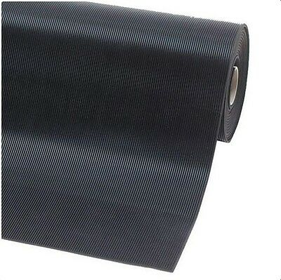 *low Price*anti Slip Fine Ribbed Prem Rubber Matting 3Mm X 1.2Mtr Wide