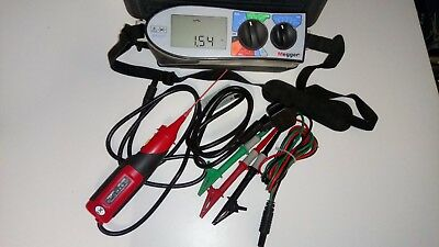 MEGGER MFT1553 Bluetooth Multi Function Test Meter & SPI Probe