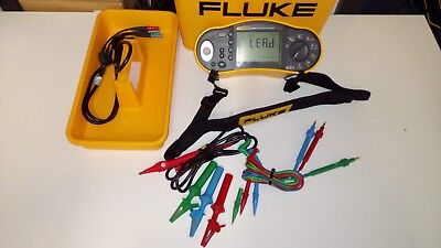 Fluke 1652CC Multifunction Tester 17th Edition with Remote probe