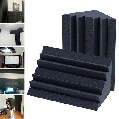 1×Soundproofing Foam Acoustic Bass Trap Corner Absorbers For Meeting Studio Room