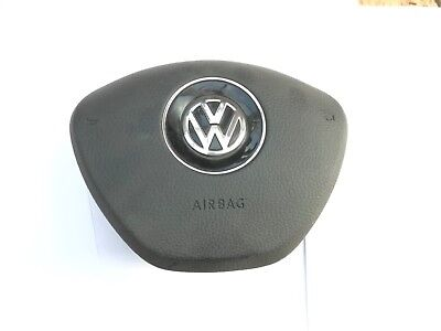Vw Golf Mk7 Touran  Driver Airbag Air Bag Steering Wheel Cover Genuine