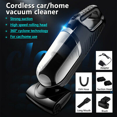 Car Vacuum Cleaner Auto Handheld Wet & Dry Suction Hand Portable 12V Wireless