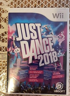 Wii Just Dance 2018  (Nintendo Wii) - New And Factory Sealed
