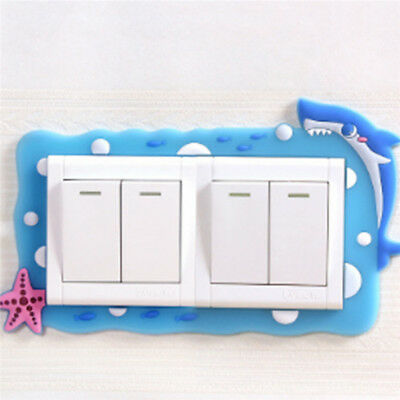 Multiple Switch Lamp Holder Cover Cute Cartoon Dust Protective Cover 8C