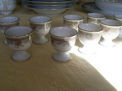 Noritake 9 Eierbecher /Egg Cups Morning Jewel""