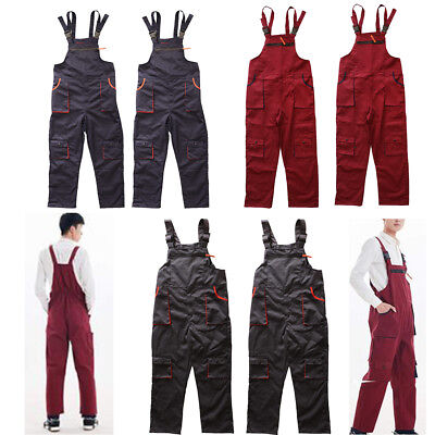 Workwear Coverall Overall Tuff Work Garage Uniform Boilersuit