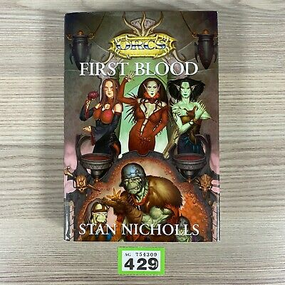 Dungeons & Dragons Orcs First Blood Hardcover Buch Stan Nicholls 1st Edition TSR