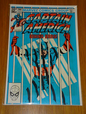 Captain America #260 Marvel Comic Near Mint Condition August 1981