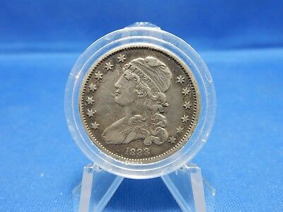 1833 Capped Bust Silver Quarter - Very Fine