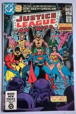 JUSTICE LEAGUE OF AMERICA #197, VFN-, CHEETAH APP, 1981, George Perez.