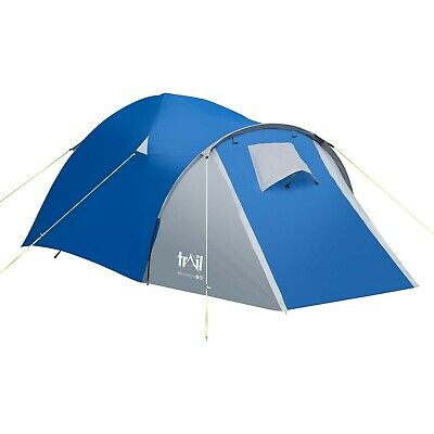 Trail 2 Man Dome Tent With Large Porch Camping Festival Waterproof 3000mm HH