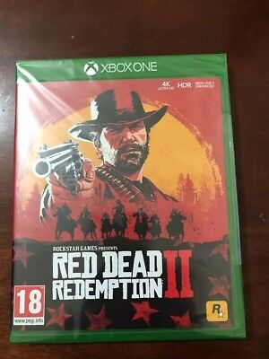 Red Dead Redemption 2 game for XBOX ONE sealed brand new uk stock