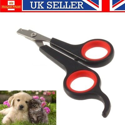 Pet Nail Clippers Dog Cat Rabbit Pig Easy Use Claw Trimmers Scissors UK SELLER