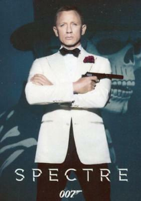 James Bond Classics 2016 Spectre Metal Gallery Chase Card G1 #048/150