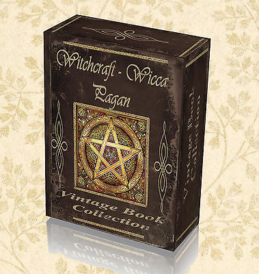 250 Rare Witchcraft Books on DVD - Black Magic Occult Spells Witches Rituals 294