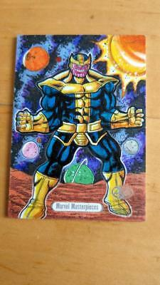 Rare 2016 Marvel Masterpieces Thanos AP Sketch By Artist Judylande Jr Nm/Mint
