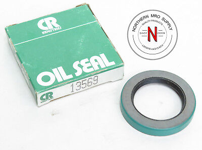 "SKF / CHICAGO RAWHIDE CR 13569 OIL SEAL, 1.375"" x 2.000"" x .3125"", DOUBLE LIP"