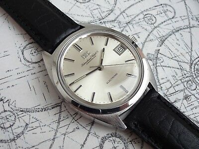 Great 1971 IWC c.150  Electronic Tuning Fork Watch (ESA 9162) – Fully Serviced