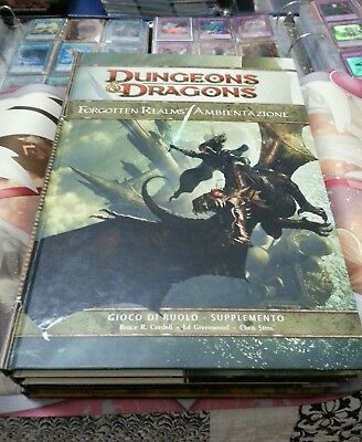 Dungeons and dragons Forgotten Realms Ambientazione - D&D 4.0 D20 NUOVO