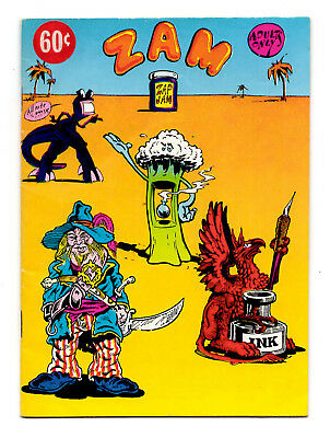 Zam - A Zap-Jam Digest Underground / 1974 R. Crumb and the Gang! - VG 4.0