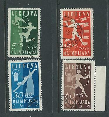 Lithuania 1938 First National Olympiad FU