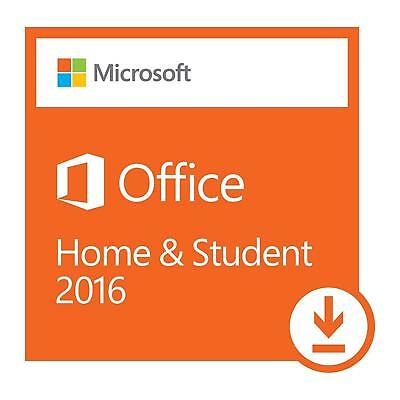 INSTANT DEL Genuine Microsoft Office Home and Student 2016 for 1 PC License key