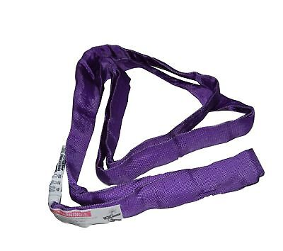 S-Line 20-ENR1X6 Lifting Sling, 1-Inch by 6-Foot, Endless Round Sling, Purple