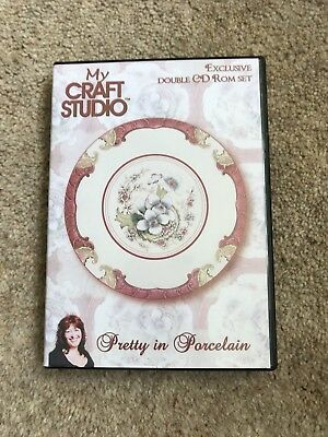 My Craft Studio Pretty In Porcelain Exclusive Double CdRom