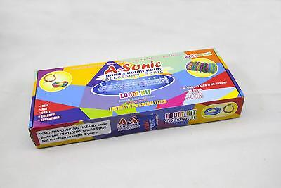 A-Sonic Loom KIT + 600 PCS Extra Bands + Extra 25 S-Clips