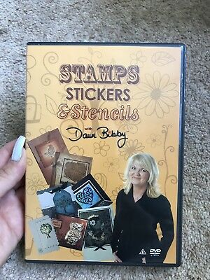 Stamps Stickers And Stencils With Dawn Baby Paper Craft Card Making Dvd