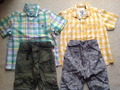 Boys Next Set Jeans & Shirt Size 4 Years