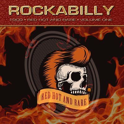 Rockabilly • Red Hot & Rare • Volume One VARIOUS Best Of 250 Songs NEW 10 CD