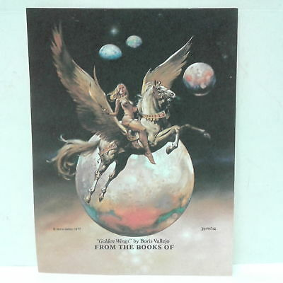 47 Golden Wings by Boris Vallejo Bookplates