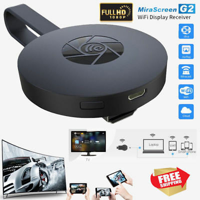 Latest 3nd Generation Chromecast 2 Miracast Digital HDMI Media Video Streamer