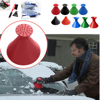 Various Universal Car Windshield Ice Scraper Tool Outdoor Funnel Remover Snow