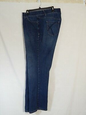 Lane Bryant Boot Cut Tighter Tummy Technology Jeans Womens Size 20 Instant Boost