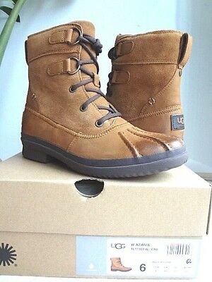 c981d2e749c UGG AZARIA WATERPROOF Leather Boot, women 6 (NIB) Free Shipping